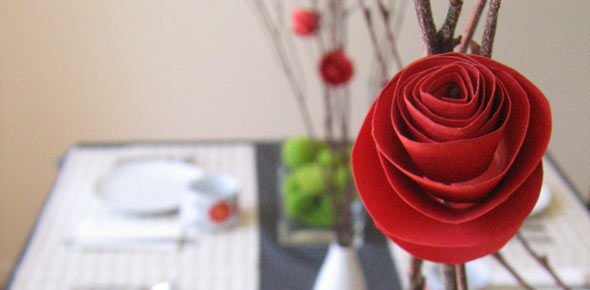 Paper flower tutorial paper flower table decoration mightylinksfo Image collections