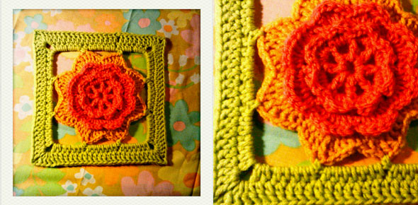 pattern,flower,crochet