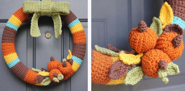 wreath,yarn,door decoration,decoration,halloween