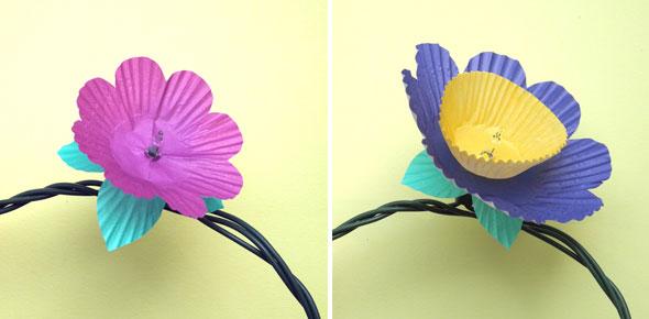 lights,flowers,cupcake,decoration