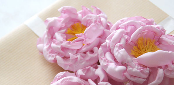 fabric,flower,brooch,pin,gift,gift toppers,decoration