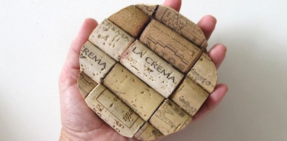 recycle,coasters,cork