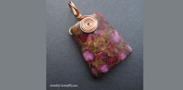 jewelry, pendant, necklace, wire wrapping, wire jewelry