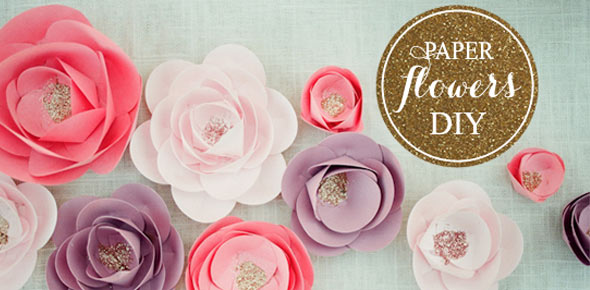 How to make a flower decoration loris decoration how to make paper flowers mightylinksfo