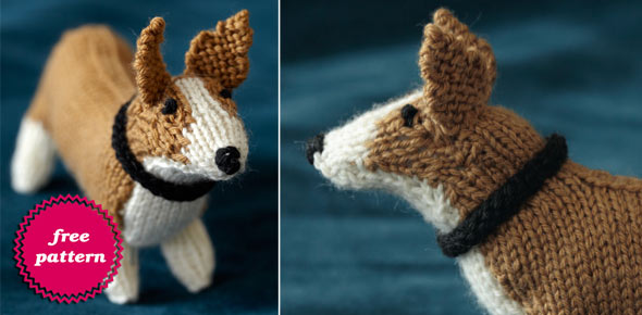 Knit Your Dog Free Corgi Pattern