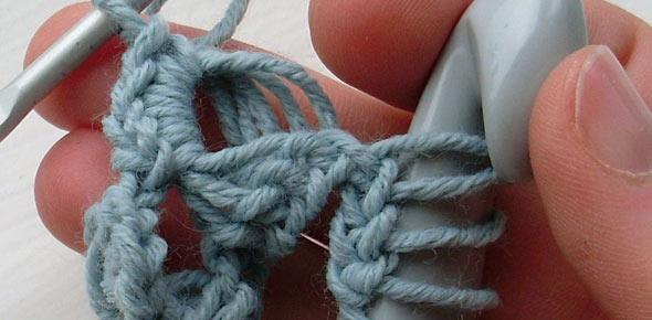 Broomstick Lace Bracelet