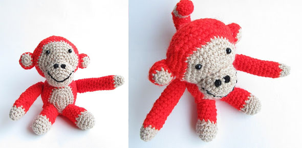 monkey, animal,children,crochet