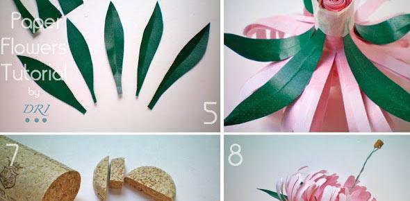 chrysanths,flower,paper