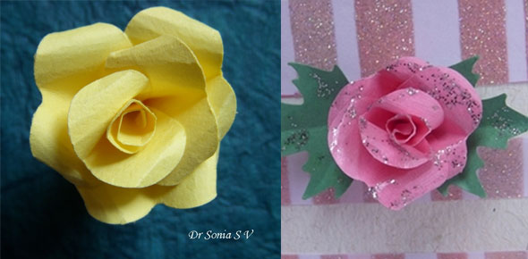 paper, flowers, rose, punchcraft, puncher, card