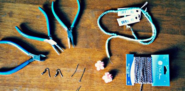 earrings, flower, flowers, floral, jewelry, jewelry making