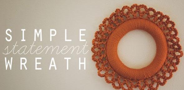 yarn,wreath,decoration