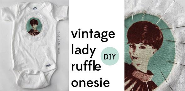 baby,applique,onesie,vintage