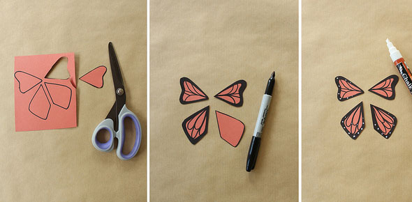 butterflies,animal,paper,toy