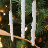 Icicle Ornaments Craft Tutorial