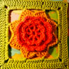 Flowery Square Crochet Pattern