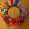 Crochet May Rose Wreath