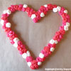 DIY Rose Covered Heart Frame
