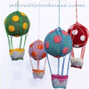 Hot Air Crochet Balloons