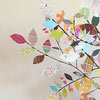 Scrap Paper Tree Centerpiece Tutorial