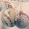 DIY Vintage Christmas Ornaments