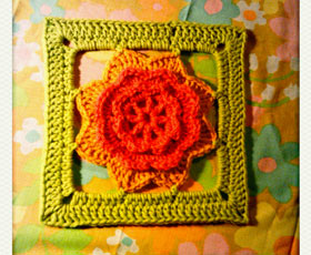 pattern,flower,crochet