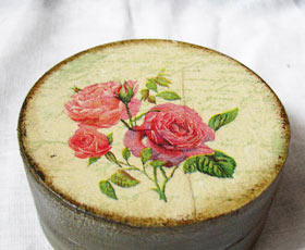 decoupage,box,gift,rose,decoration