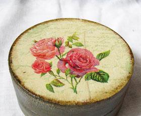 decoupage,box,gift,rose,decoration