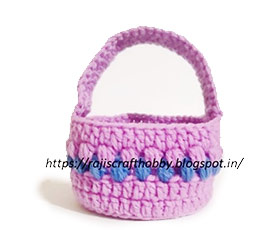 easter, basket, crochet