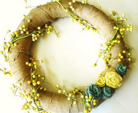 wreath,fabric,decoration,flowers