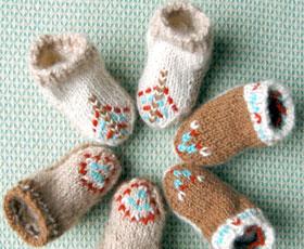 baby,yarn,wool,boots
