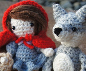crochet,pattern,red riding hood,children