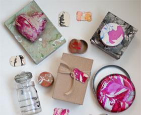 gift,box,nail polish