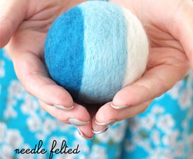 felt,needle,ball,decor,toy