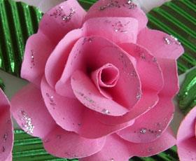 Paper crafts craft tutorial paper rose tutorial mightylinksfo