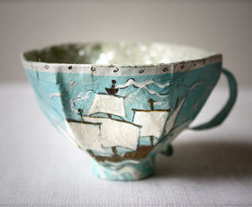 teacup,recycled