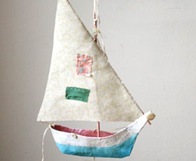 boat,paper,paper mache,children,gift,ship