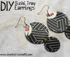 jewelry,earrings,upcycled